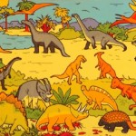 Dinosaur Playmat 1