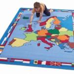 Europe Map Rug 2