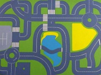 Continental Roadplan Playmat