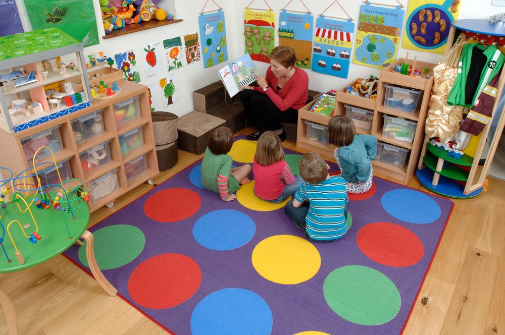 Classroom Rug Ideas ~ Circle time rug grug sport and playbasesport