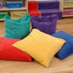 Large Bean Floor Cushions 2