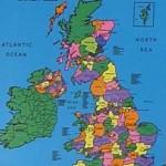 British Isles Map Cloth 1