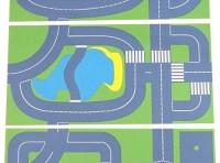 Set 3 Continental Roadway playmats