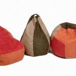 Suede Bean Bag Chair 1
