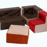 Suede Sofa 1