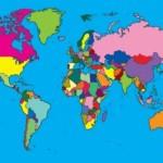 World Map Rug 3