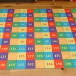 1-150 NUMBER MAT 1