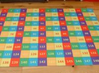 1-150 NUMBER MAT