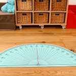 PROTRACTOR PLAYMAT 2