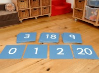 LARGE NUMBER TILES