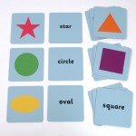 SHAPES MATCHING TILES 1