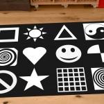 Black and White Nursery Playmat 1
