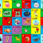 WELSH ALPHABET PLAYMAT 1