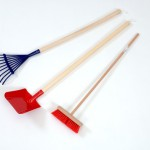 Long Handled Gardening Tools set of 3 1