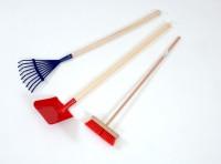 Long Handled Gardening Tools set of 3