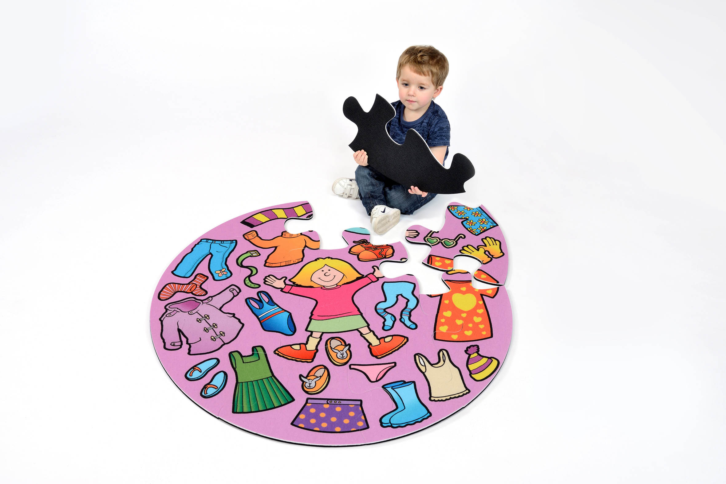 Girls Clothes Jumbo Puzzle Sport And Playbasesport And Playbase