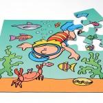 Diver Jumbo Puzzle 3