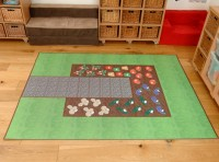Vegetable Garden Outdoor Mat