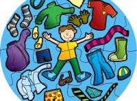 Boys Clothes Jumbo Puzzle