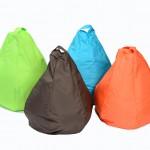 Outdoor Bean Bag – Orange 1