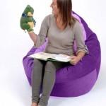 Adult Bean Bag Chair Purple – Lavender 1