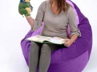 Adult Bean Bag Chair Purple – Lavender