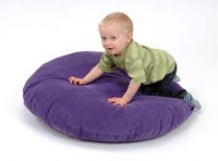 Large Round Floor Cushion – Purple