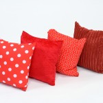 Elemantal Cushions Fire Tones set of 4 1