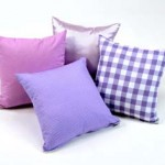 Set 4 Lavender Scatter Cushions 1