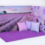 Lavender Wall Backdrop 3