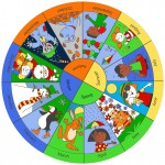 Seasons Circular Rug 1