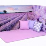 Lavender Padded Mat 2
