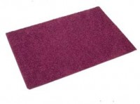 Plum Tufty Rug