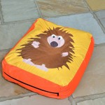 Hedgehog Outdoor Bean Cushion 1