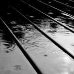 B&W Mat Rain 1