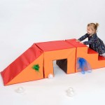 Toddler 3 Piece Steps, Tunnel and Slope 3