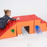 Toddler 3 Piece Steps, Tunnel and Slope 4
