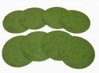 Landscape Grass set 8 circles