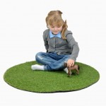 Landscape Grass 88cm Circl 4