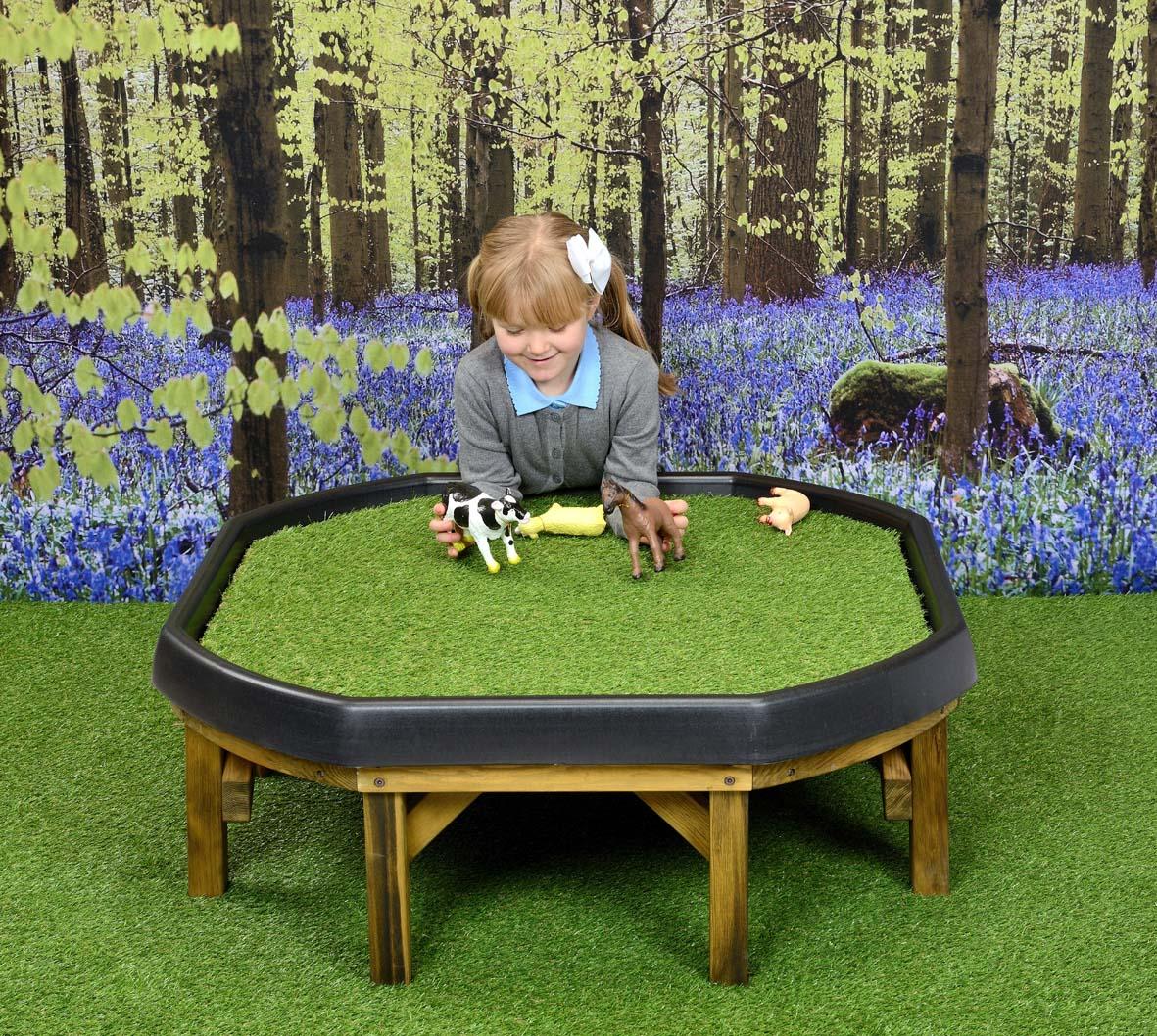 Landscape Grass Stuff Tray Mat Sport And Playbasesport