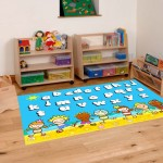 Classroom Playmat ALPHABET BEACH PARTY 3