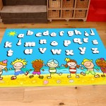 Classroom Playmat ALPHABET BEACH PARTY 2