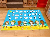 Classroom Playmat ALPHABET BEACH PARTY