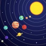 Classroom Playmat SOLAR SYSTEM 1