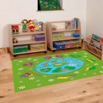 Classroom Playmat FROG AND BUTTERFLY LIFECYCLE 2