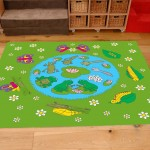 Classroom Playmat FROG AND BUTTERFLY LIFECYCLE 3
