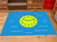 Classroom Playmat TELL THE TIME