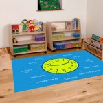 Classroom Playmat TELL THE TIME 2