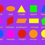 Classroom Playmat GEOMETRIC SHAPES 1