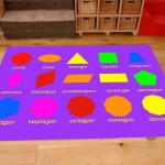 Classroom Playmat GEOMETRIC SHAPES 2